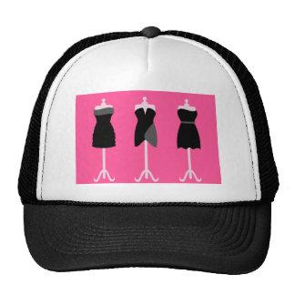 3littleblackdresses black , clip art , clipart , c trucker hat