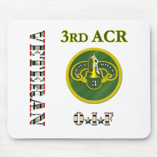 3rd Armored Cavalry OIF Mousepads