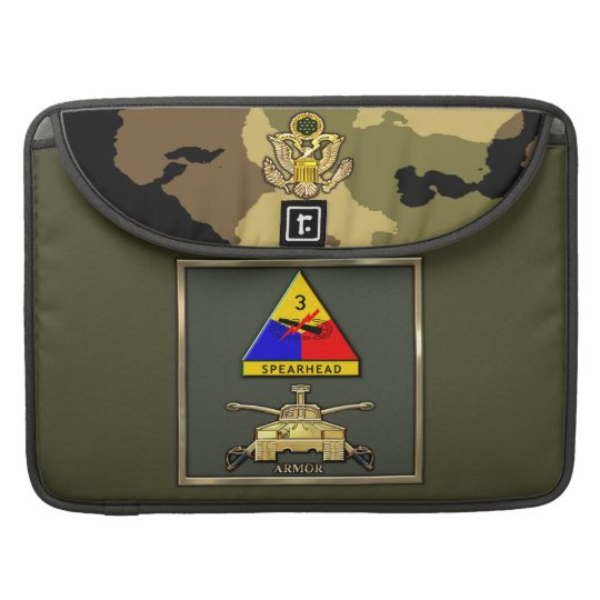 3rd Armour Division Sleeve For MacBooks