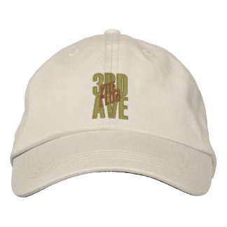 3RD AVE Kite Club Embroidered Adjustable Hat Embroidered Cap