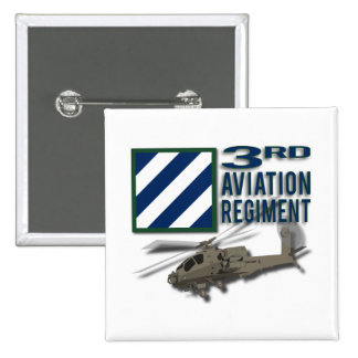 3rd Aviation Regiment Apache Buttons