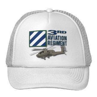 3rd Aviation Regiment Apache Mesh Hat