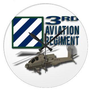 3rd Aviation Regiment Apache Clock