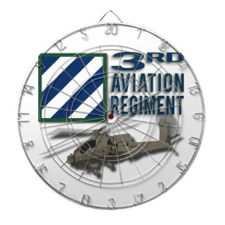 3rd Aviation Regiment Apache Dart Board