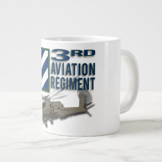 3rd Aviation Regiment Apache Extra Large Mugs