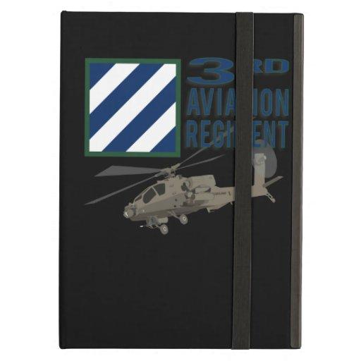 3rd Aviation Regiment Apache iPad Folio Case