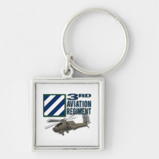 3rd Aviation Regiment Apache Key Chains