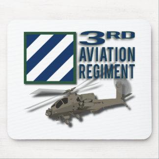 3rd Aviation Regiment Apache Mouse Pad