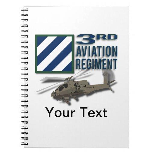 3rd Aviation Regiment Apache Note Book