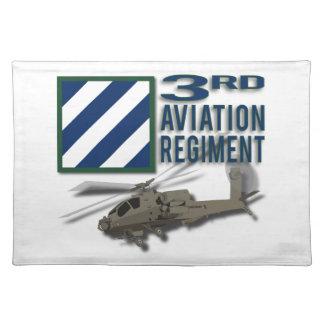 3rd Aviation Regiment Apache Place Mats