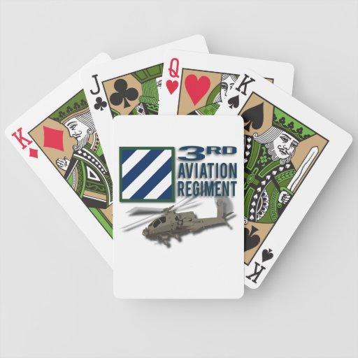 3rd Aviation Regiment Apache Poker Cards