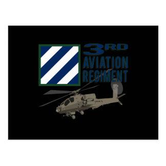 3rd Aviation Regiment Apache Post Cards