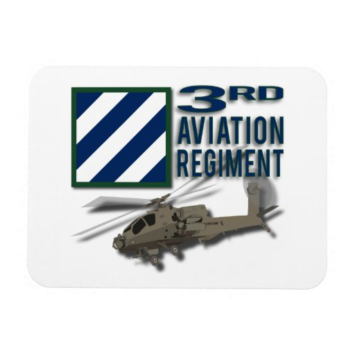 3rd Aviation Regiment Apache Flexible Magnet