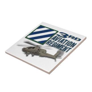 3rd Aviation Regiment Apache Ceramic Tiles