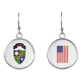 3rd Battalion - 75th Ranger Regiment Earrings