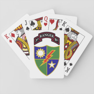 3rd Battalion - 75th Ranger Regiment Playing Cards
