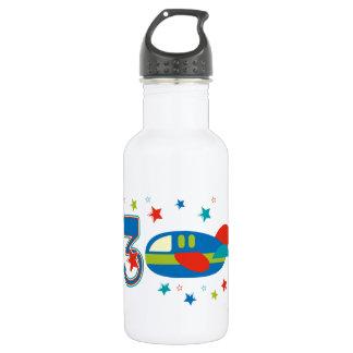 3rd Birthday Airplane 532 Ml Water Bottle