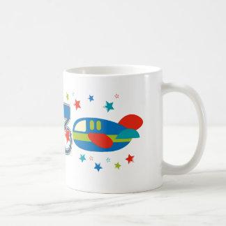 3rd Birthday Airplane Coffee Mug