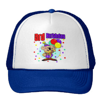 3rd Birthday Australia Birthday Hats