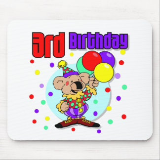 3rd Birthday Australia Birthday Mouse Pads