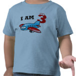 3rd birthday boy gift ( aeroplane ) tee shirt