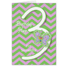 3rd Birthday Butterfly Hugs Custom Card