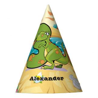 3rd Birthday Dinosaur Party Hat