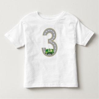 3rd Birthday Garbage Truck T-shirt
