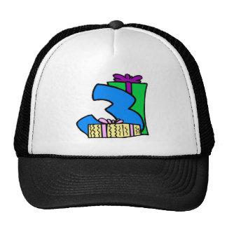 3rd Birthday Hat Cap Gift
