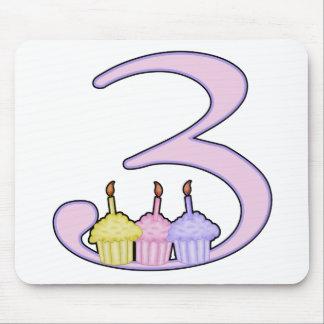 3rd Birthday Mousepads