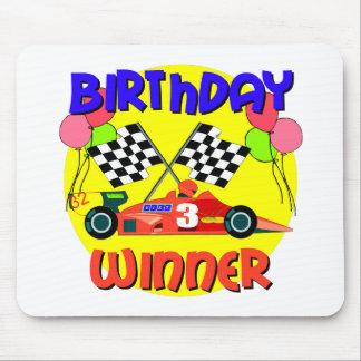 3rd Birthday Race Car Birthday Mouse Pads