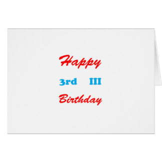 3rd Birthday RETURN GIFTS BUTTONS Shirts Stickers Cards