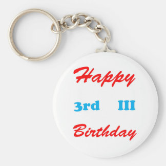 3rd Birthday RETURN GIFTS BUTTONS Shirts Stickers Keychain