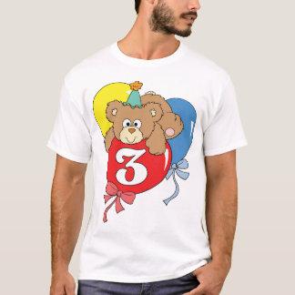 3rd Birthday Teddy Bear (2) T-Shirt