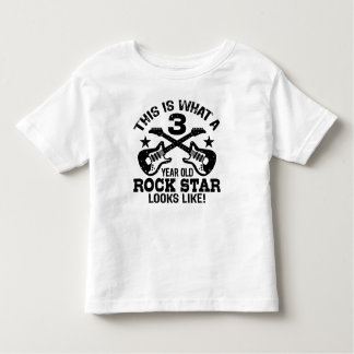3rd Birthday Toddler T-Shirt