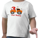 3rd Birthday Truck Personalised T-shirt