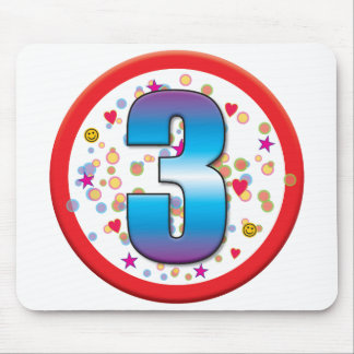 3rd Birthday v2 Mouse Pad