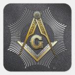 3rd Degree: Master Mason Stickers