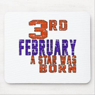 3rd February a star was born Mousepad