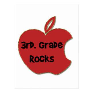 3rd. Grade Rocks Postcard
