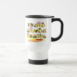 3rd Grade Rocks Stainless Steel Travel Mug