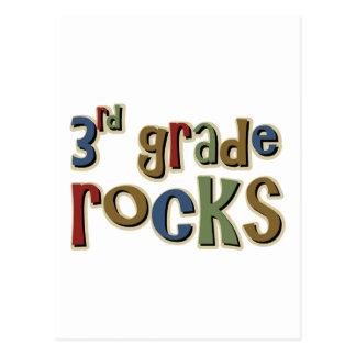 3rd Grade Rocks Third Postcard