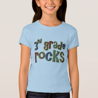 3rd Grade Rocks Third T-Shirt