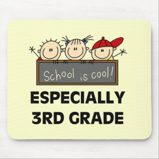 3rd Grade School is Cool Tshirts and Gifts Mouse Pad