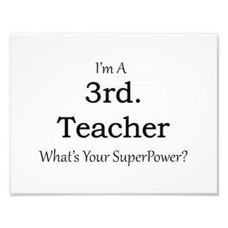 3rd. Grade Teacher Art Photo