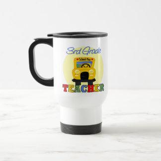 3rd Grade Teacher,bus Stainless Steel Travel Mug