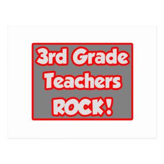 3rd Grade Teachers Rock! Post Cards