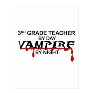 3rd Grade Vampire by Night Postcard