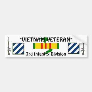 3rd Inf Division bumper sticker