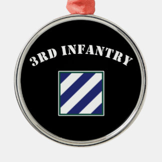 3rd Infantry Division Christmas Ornament